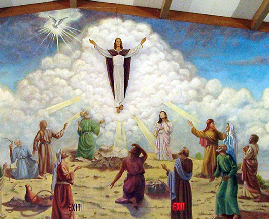 Ascension Mural